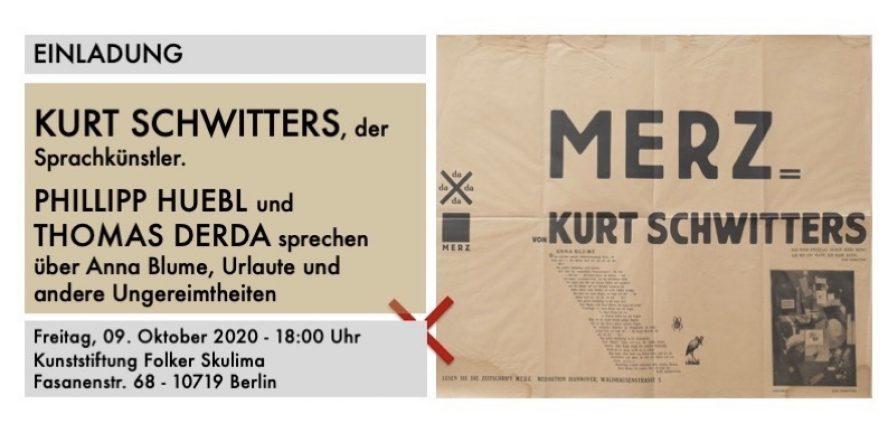 Kurt Schwitters, der Sprachkünstler - Einladung